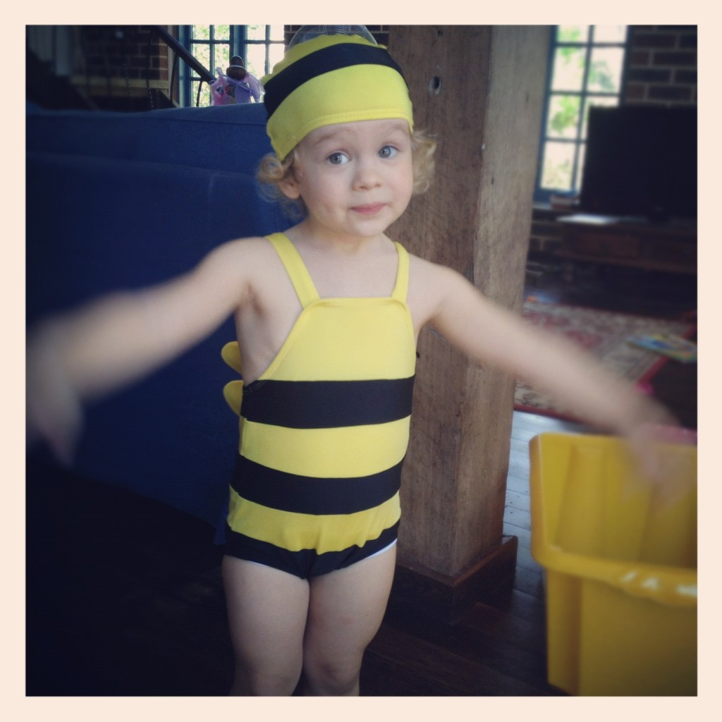 I guess I'm the 'type' of parent who will dress my kid up like a bumble bee?