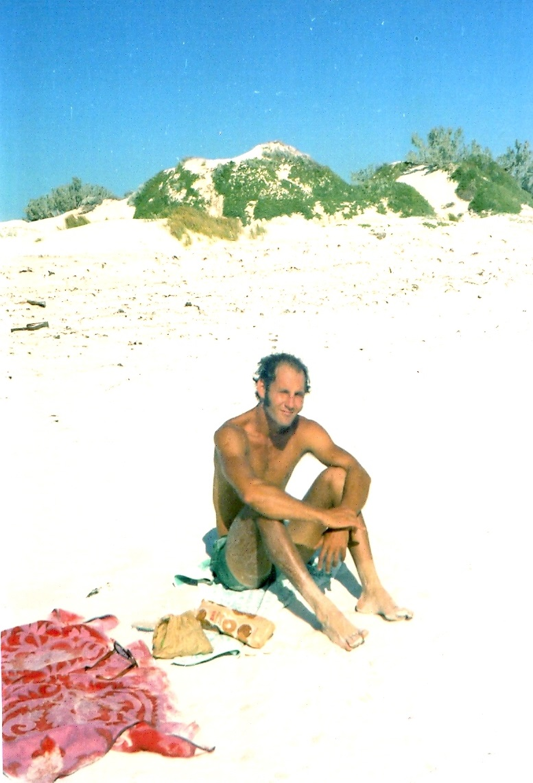 My awesome dad Rog on a Northern suburbs beach circa 1970's.