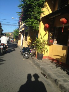French influenced Hoi An town