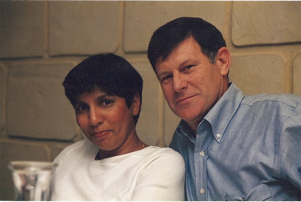 My aunty Trix and her hubby uncle Bernard. Happily married for 35 years.