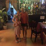"At our favourite restaurant ""Mi Casa"""